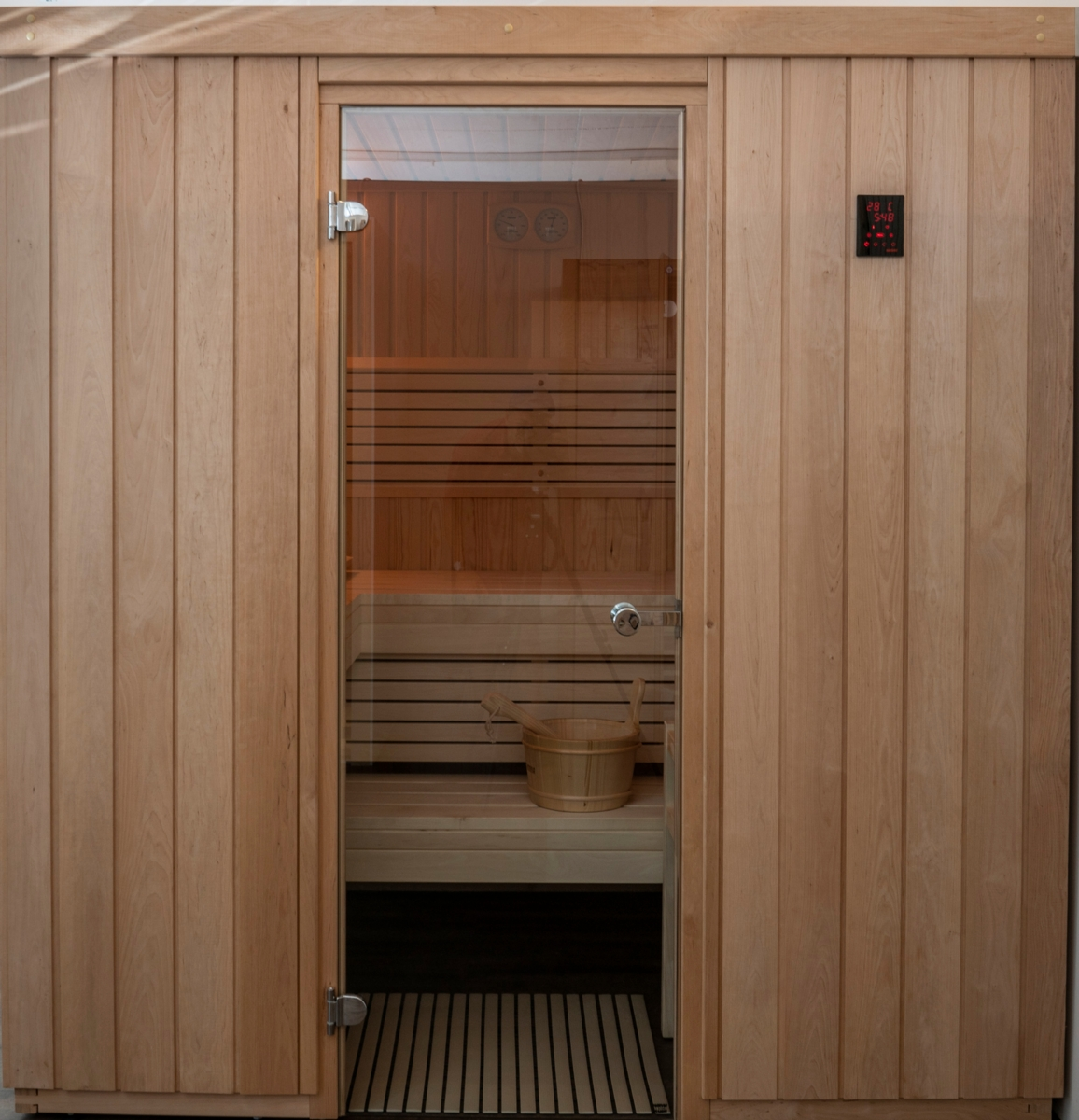 Sauna in Erle & Kiefer